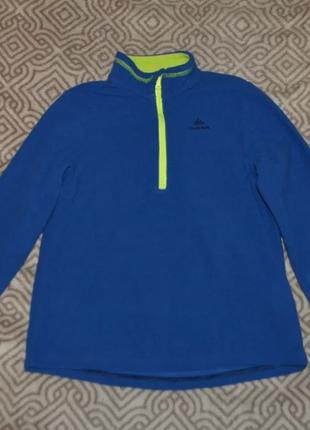Флиска флисовый свитер quechua 8-9 лет рост 128-134