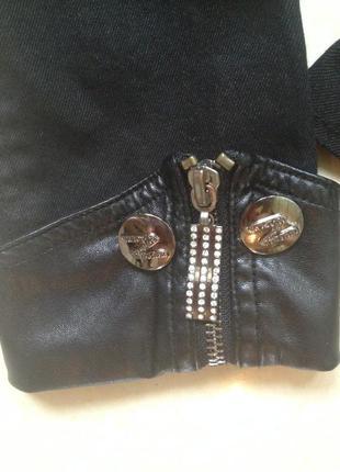 Коттоновый пиджак с баской5 фото