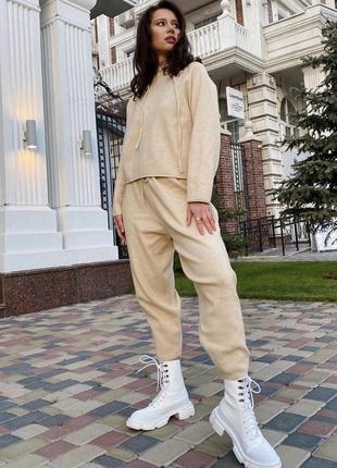 Кашемировый 100% костюм