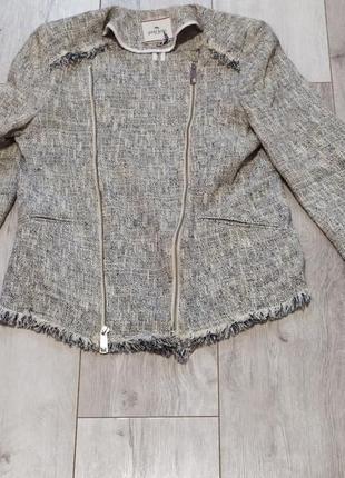 Куртка с бахромой