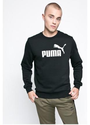 Свитшот базовая модель стильный дизайн puma ® ess no.1 crew sweat