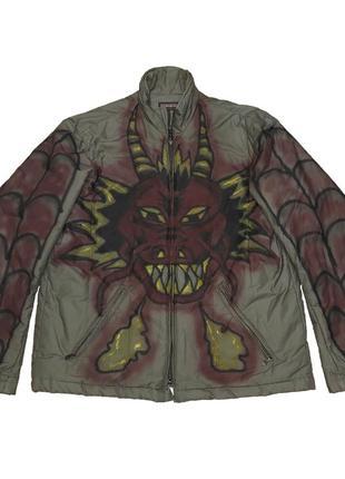 Куртка кастом custom курточка пуховик ветровка тренч напапири