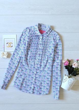 Рубашка в квітковий прінт charles tyrwhitt