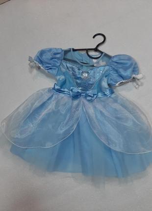 Карнавальное платье снежинка,золушка