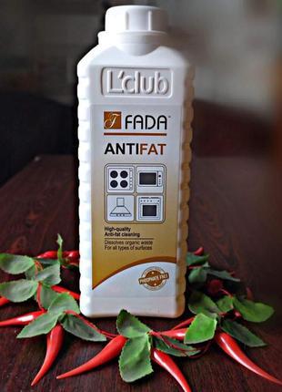Засіб для видалення пригорілого жиру фада антижир (суперсила, еко продукція)