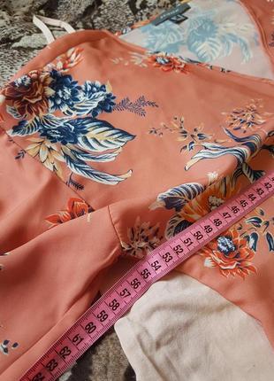 Блуза на запах с красивым рукавом m,l,xl6 фото