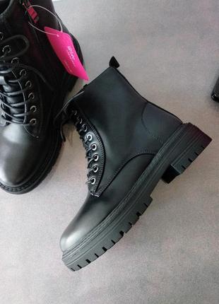 Зимние ботинки в стиле zara