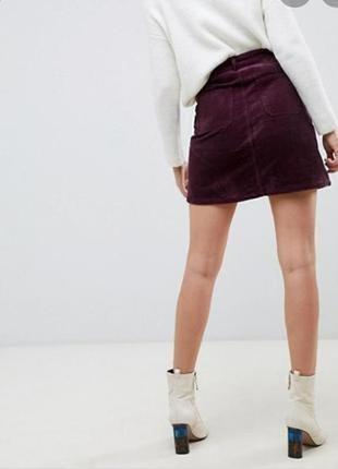 Женская юбка # вельветовая юбка # f&f