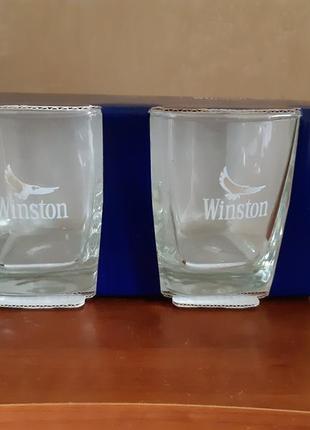 Набор 2 стакана winston