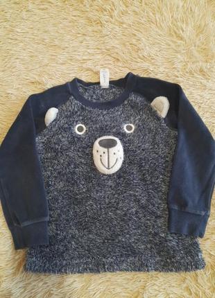 Тёплая кофта. теплий светрик. свитер