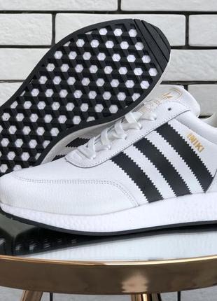 Мужские зимние кроссовки на меху adidas iniki