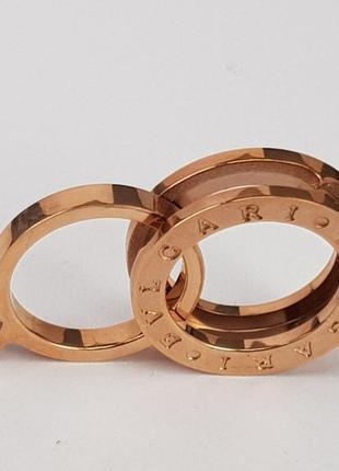 Кольцо трансформер bvlgari размер 16, 17