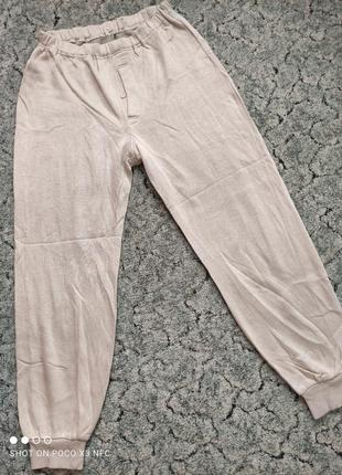 Штаны пижамные, кальсоны р. м-l