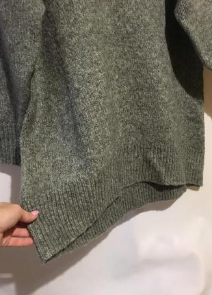 Шикарный тёплый свитер туника zara5 фото