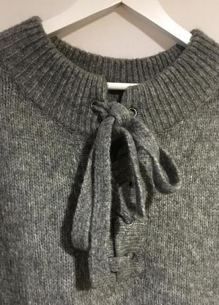 Шикарный тёплый свитер туника zara2 фото