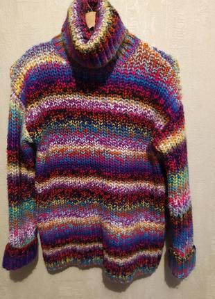Крутоц радужный свитер primark, размер xs/s