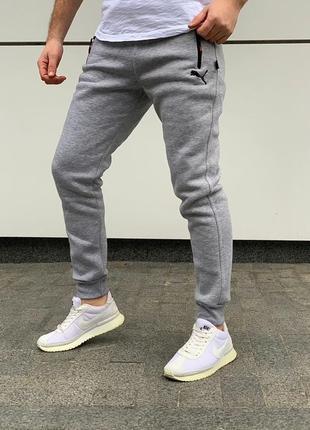 Cпортивные штаны на флисе