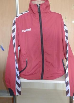 Куртка спортивная красная