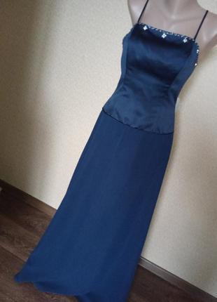 Вечірня сукня alfred angelo розмір 44-46-торг/обмен