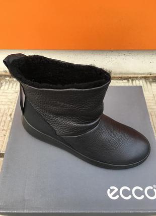 Женские зимние ботинки ecco ukiuk  221043 02001