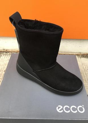 Женские зимние ботинки  ecco  ukiuk 221003 51052