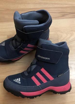 Adidas climawarm ботинки для девочки