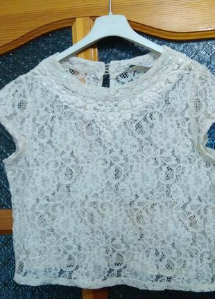 Кроп топ  new look укороченная блуза