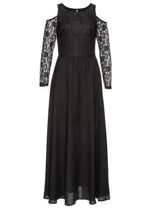 Вечернее шифоновое платье в пол бренда body flirt