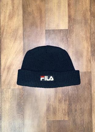 Тёплая шапка fila оригинал