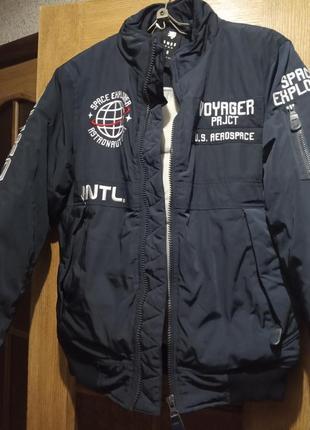 Куртка бомбер smog
