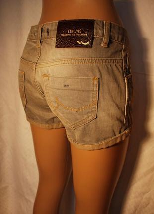 Шорты джинсовые короткие ltb