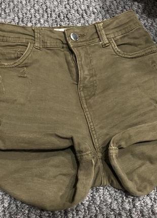 Джинсовые шорты bershka premium