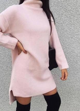 Платье - туника на флисе3 фото