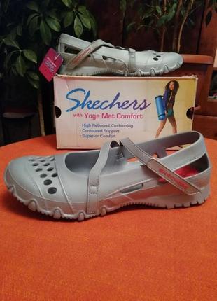 Монолитные skechers босоножки сандали
