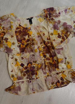 Лёгкая блуза h&m