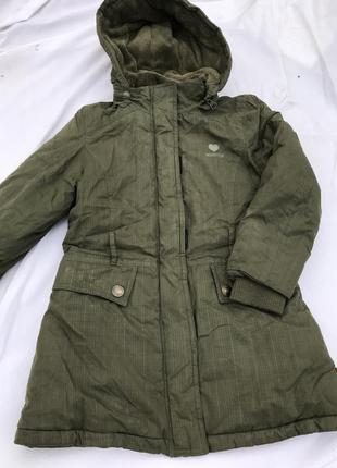 Подовжена тепла куртка