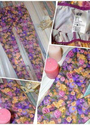 Цветочные лосинки от h&m!