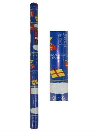 Упаковочная бумага новогодняя для подарков melinera упаковка
