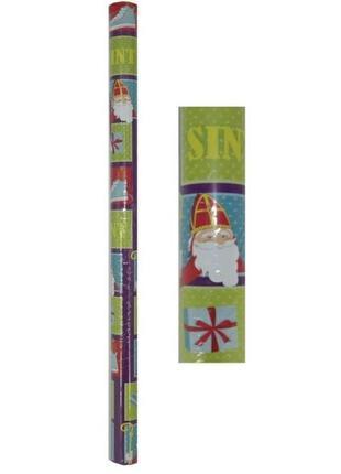 Упаковочная бумага новогодняя рулон подарочная упаковка melinera