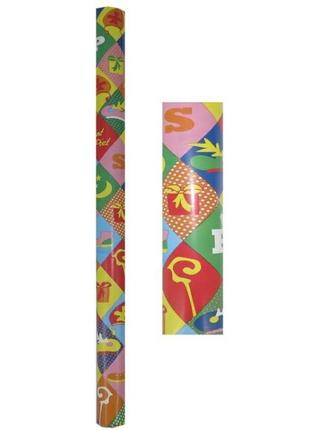 Новогодняя бумага упаковка упаковочная подарочная melinera