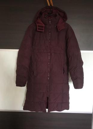 Марсаловая куртка зимняя пальто sportswear