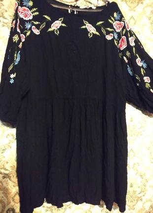 Платье вышивка вышиванка бохо