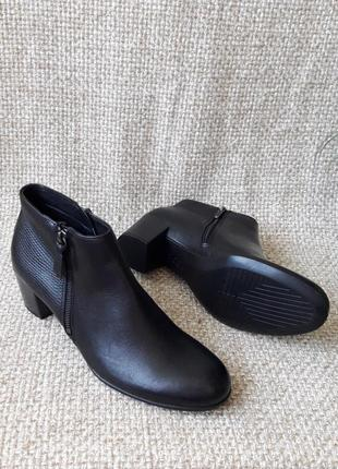 Ботильйони черевички шкіряні оригінал ecco shape 55 273093 розмір 41