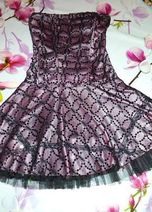 Нарядное платье корсет на выпускной не дорого