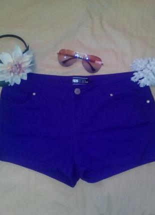 Фиолетовые шорты new look, размер l-xl