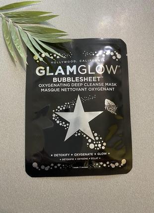 Glamglow bubblesheet пузырьковая маска