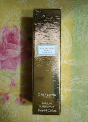 Парфюмерная вода  giordani gold essenza  мини-спрей 8 мл oriflame
