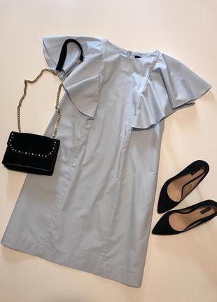 Небесно-голубое платьице от любимого бренда zara
