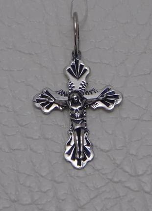 Новый серебряный крестик