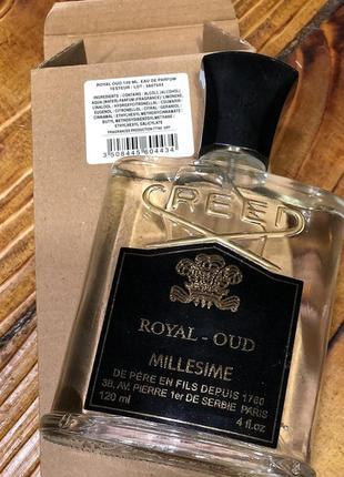 Creed royal oud tester 120 ml новый!